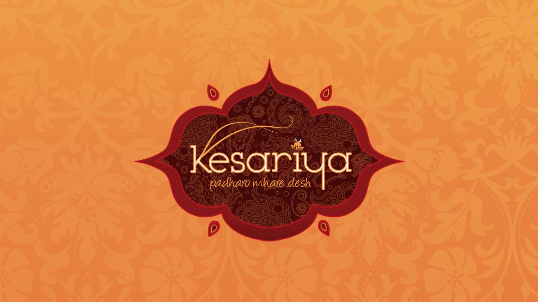 Kesariya Restaurant Logo The Other Design Studio