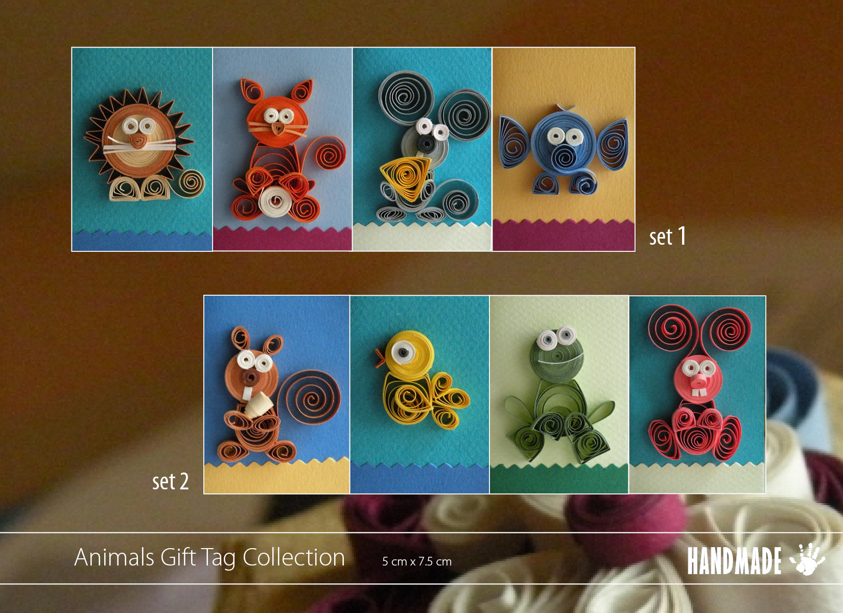 Quilling Animals Handmade