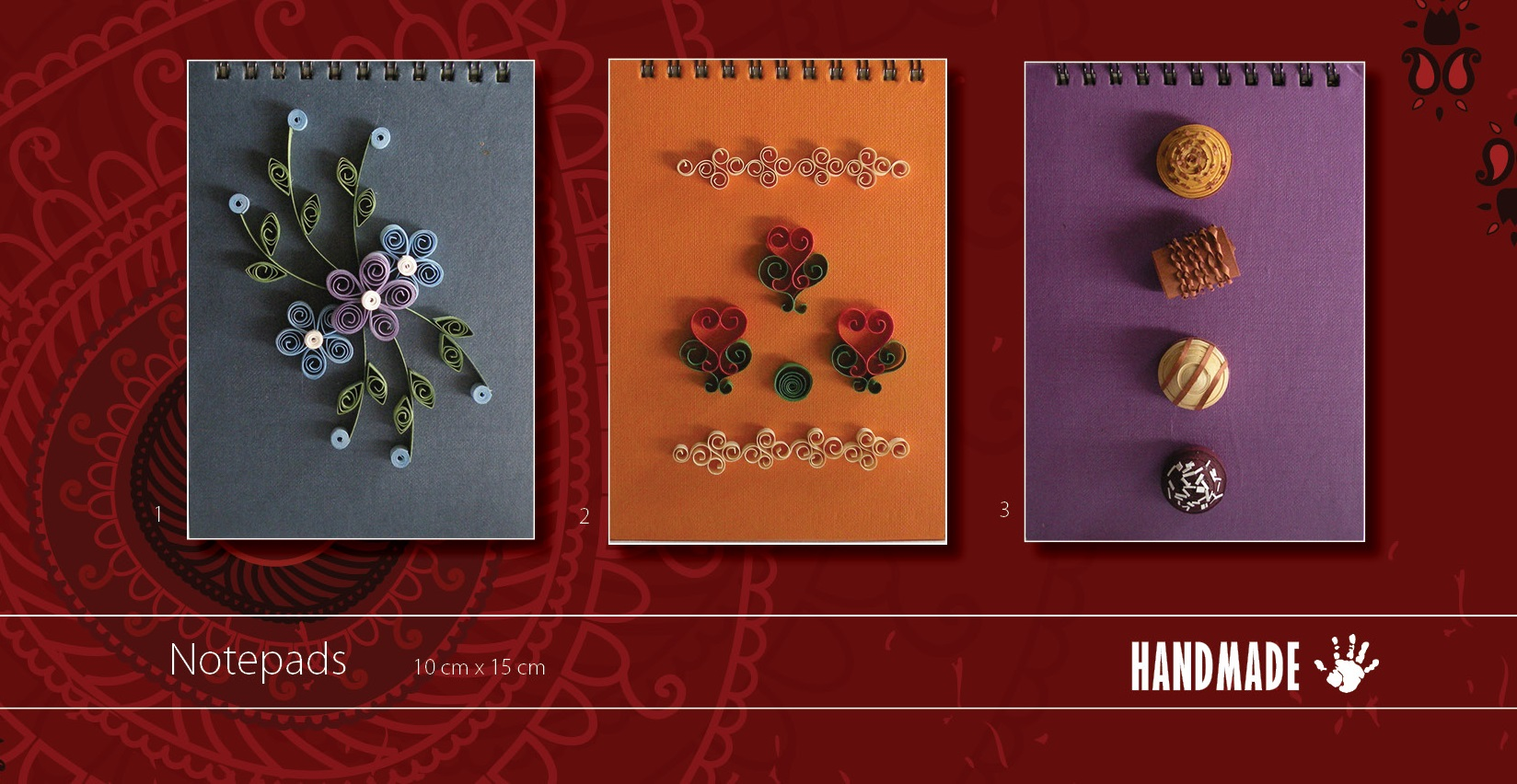 Quilling Notepads